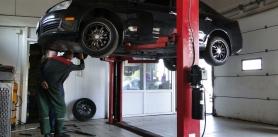 Диагностика подвески при проведении ремонта вавтосервисе «Автономия» фото