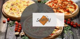 """Пицца-комбо + бесплатная доставка от службы """"Saboy"""" фото"""