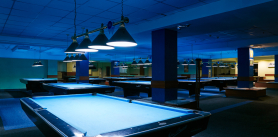Игра вбильярд для постоянных посетителей вбильярдном клубе «Старт» фото