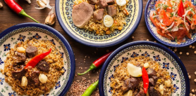"""- 50% на вторую порцию блюд Узбекской кухни в кафе """"Samsa"""" с 15.00 до 17.00! фото"""