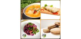 Сет «Осенние витамины по-вегетариански» натроих отсервиса доставки «Тук-тук Латук» фото