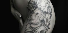 "Татуировка в салоне ""Old Wizard Tattoo"" фото"