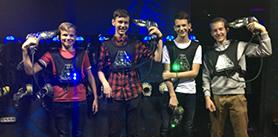 Лазертаг для школьников вразвлекательном центре «Силариус» фото