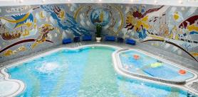 Разовое посещение бассейна для посетителей сограниченными возможностями вгостинице «Беларусь» фото