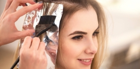Различные виды окрашивания волос, разного уровня сложности в салоне красоты De Pari Sharm фото