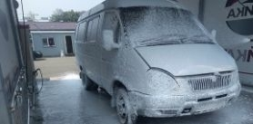Мойка микроавтобуса потарифу комплекс «2+» вавтомойке «Чистый Car» фото