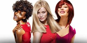 """Женская стрижка, однотонное окрашивание волос в салоне """"Bon Ami"""" фото"""