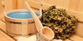 Отдых в бане в агроусадьбе «Лолуа» фото