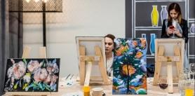 до -55% на Мастер-класс в художественной студии «ФАРБЫ&ПЭНДЗЛІК» фото