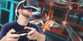 -50% на сеанс виртуальной реальности в шлемах: HTC Vive, PlayStation VR, Oculus rift CV1, Oculus rift DK2. фото