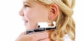 Безболезненный прокол ушей, серьги всалоне красоты «Манго» фото