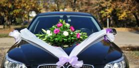 Украшение автомобиля соскидкой при бронировании автомобиля на5часов иболее отпроката автомобилей сводителем LimoVip фото