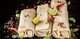 5-я шаурма бесплатно вкафе Shalom Grill фото