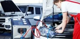 Шиномонтаж «Все включено», балансировка мотоколес, ремонт проколов, заправка кондиционеров вСТО «ГансМоторс» фото