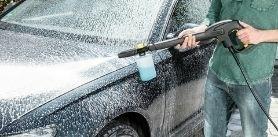 Ручная мойка микроавтобуса без сушки кузова вавтомойке «Чистый Car» фото