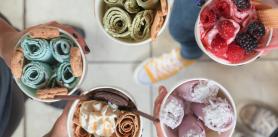 """Мороженое в Кафе """"Rolln`Ice"""" фото"""