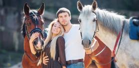"""- 100% на Конные прогулки верхом в усадьбе """"Ранчо-Родео""""! фото"""