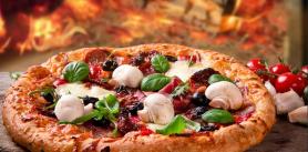 """Пицца в кафе """"Крамбамбуля"""" фото"""