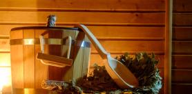 Русская баня на дровах в агроусадьбе «Тры Бабры» фото