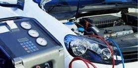 Заправка автомобильного кондиционера отшиномонтажа «Альфашина» фото