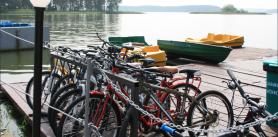 """Велосипеды и прогулки на лодках в усадьбе """"Вилейские просторы"""" фото"""