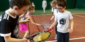 Занятия для детей втеннисном клубе-академии «Минск теннис» фото