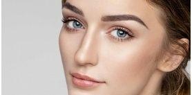Окрашивание икоррекция бровей всалоне красоты «Прикосновение» фото