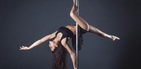 Пробное занятие встудии танца напилоне Alexis фото
