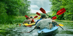 Водные походы набайдарках для детей фото