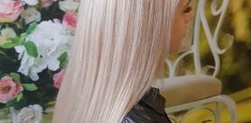 Бразильское разглаживание волос встудии «Мали» фото