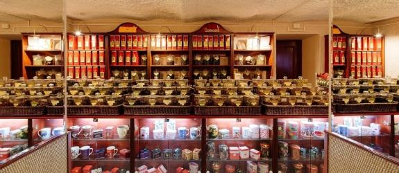 Магазин чая и кофе, дегустационный зал Gurman's (Гурманс) фото