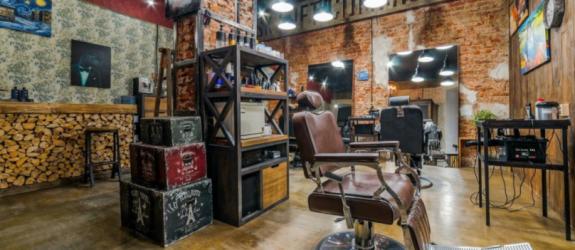 Мужская парикмахерская Doberman фото