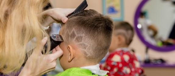 Детская парикмахерские Ёжик фото