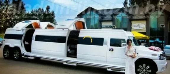 Прокат лимузинов Hummer H2 и автомобилей представительского класса Аладдин-лимузин фото