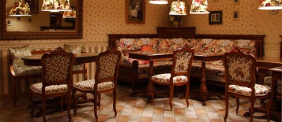 Кафе Моя английская бабушка фото
