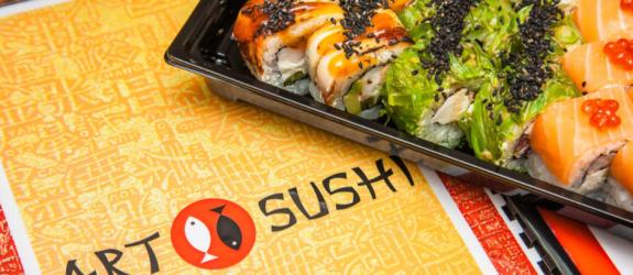 Доставка блюд японской кухни, take away ARTSUSHI фото