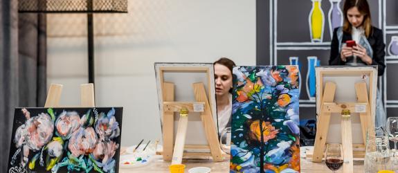 Художественная студия Фарбы&Пэндзлік фото