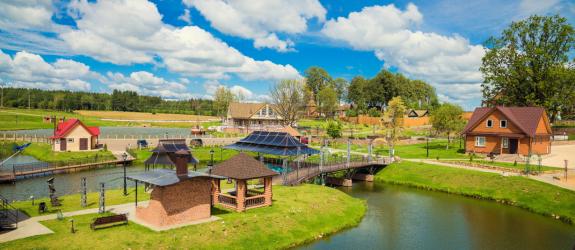 Экотуркомплекс Николаевские пруды фото